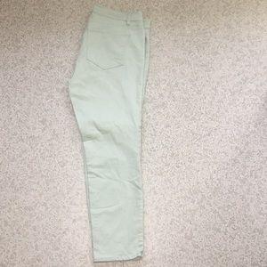 Ann Taylor Modern Mint Green Jeans